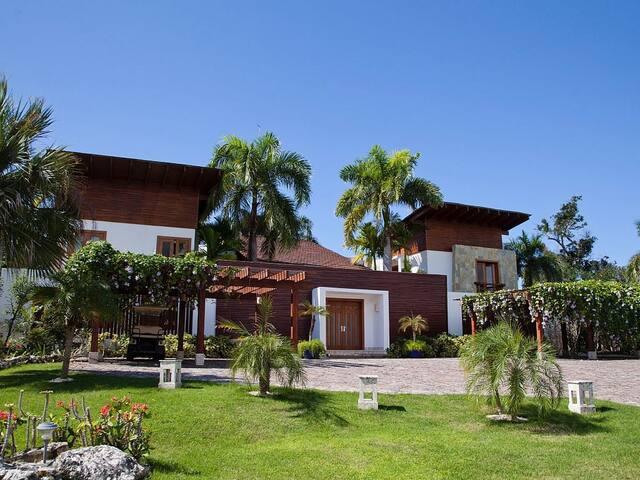 Breathtaking 5 bedroom villa with beach access - Punta Cana - Villa