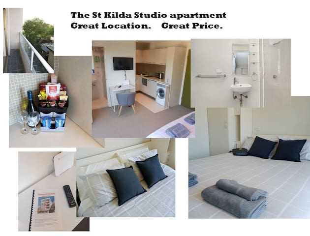 The St Kilda studio - Great Location. Wifi/Netflix - Saint Kilda - Lakás