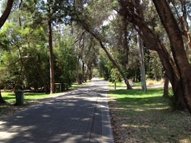 A  quiet and secluded street to meander along