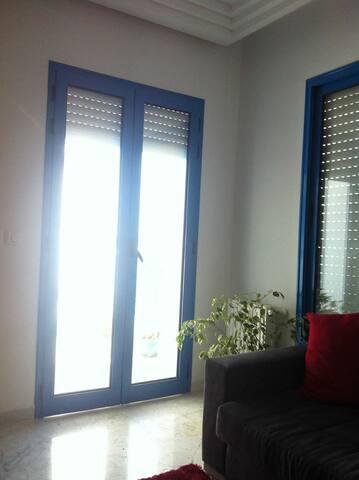 appartement vue sur mer s plus à hammamet nord - Hammamet - Apartment