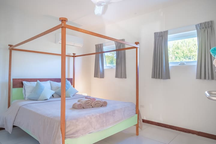 2nd bedroom with aircon.