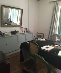 Spacious Sunny flat, private room - Zamalek - Apartment