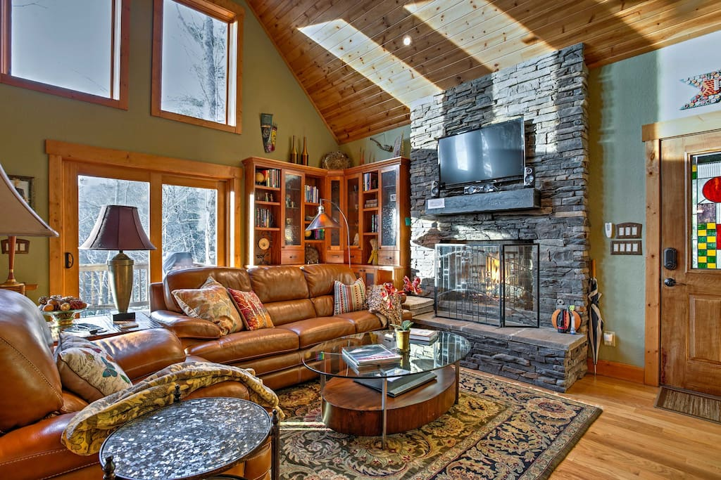 Elevate your Smoky Mountain getaway by staying at this beautiful vacation rental cabin in Highlands, North Carolina!