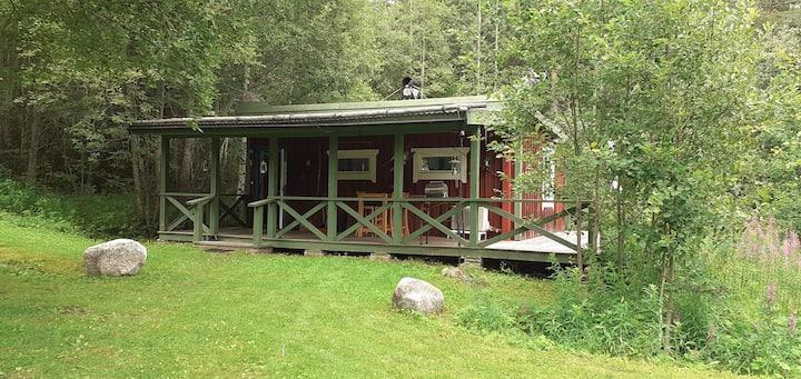 Kleines Ferienhaus in ruhiger Lage.