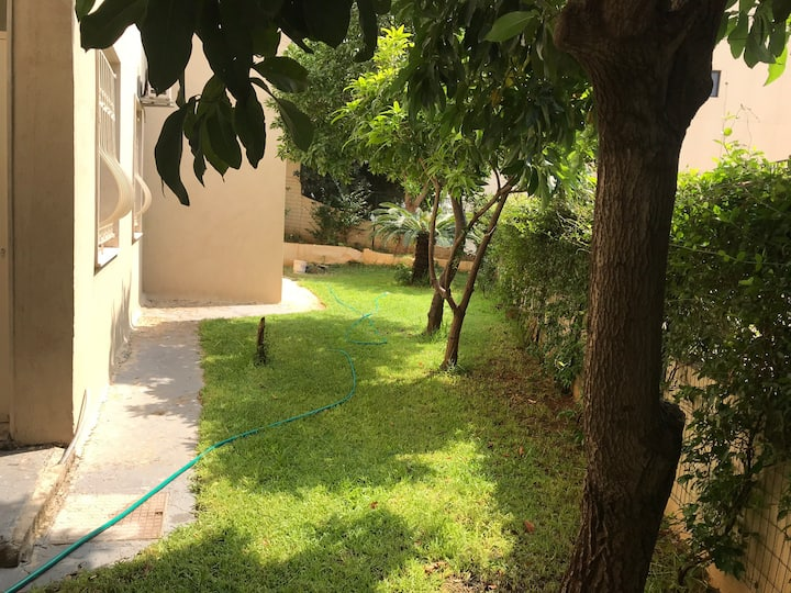 Appartement with a private garden