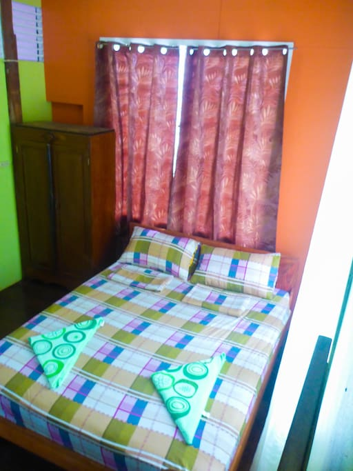1 Double Room good for 2 persons up to 3