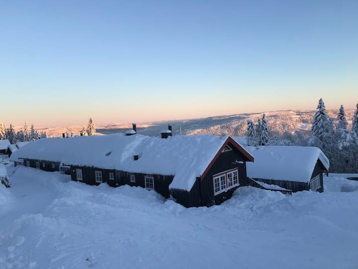 Skihytte i alpinlandsbyen -Sandumlia