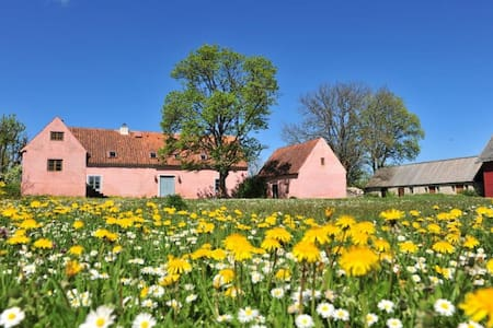 Vacker historisk gotlandgård