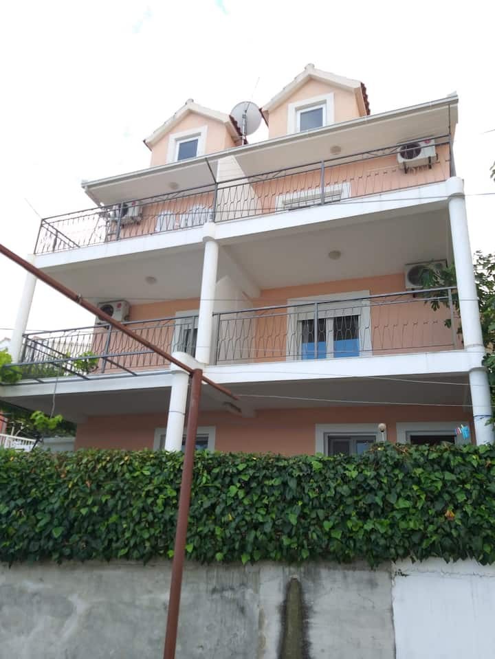Apartment with balcony and view