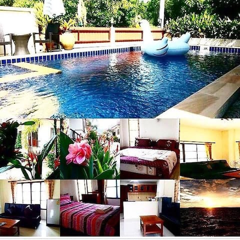 2 bedroom house which pool on Lipa Noi beach 1
