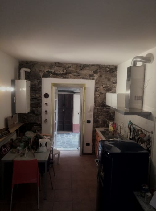 Cucina e cortiletto interno