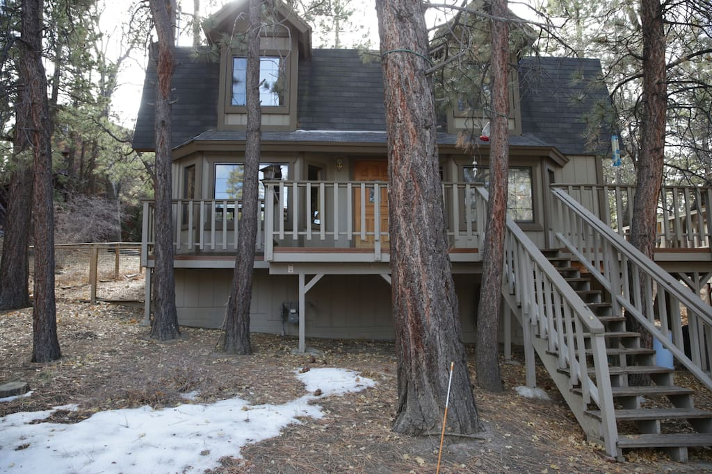 Big bear cabin cabins for rent in big bear california for Big bear cabins california
