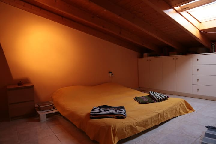 Cosy loft with private bathroom - Nafplio - Flat