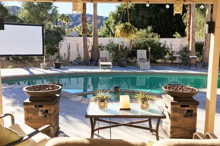 Voted Best Airbnb in Palm Springs - Spa Retreat