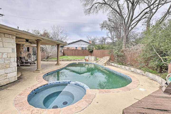Fort Worth Home w/ Pool - 7 Mi. to Downtown!