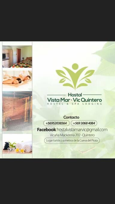 Hermoso hostal Quintero! V region ! Lugar turístico! A pasos de la playa y cueva del Pirata! Lugar Turístico !