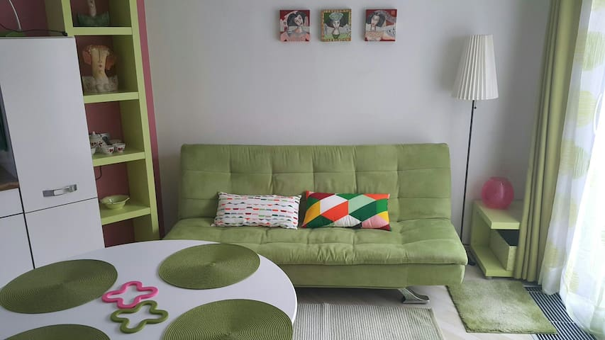 Cozy apartment close to the airport - Cerklje na Gorenjskem - Huoneisto
