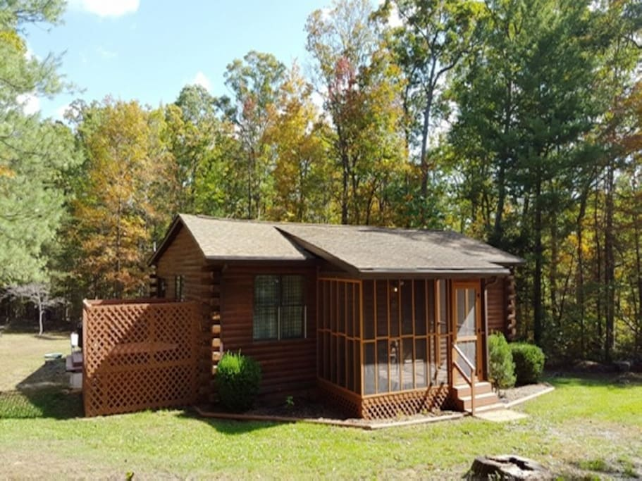 A cozy cabin cottages for rent in luray virginia for Cabin rentals near luray va