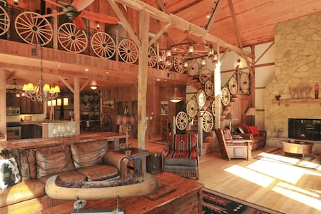 Big Valley Ranch's Barn House