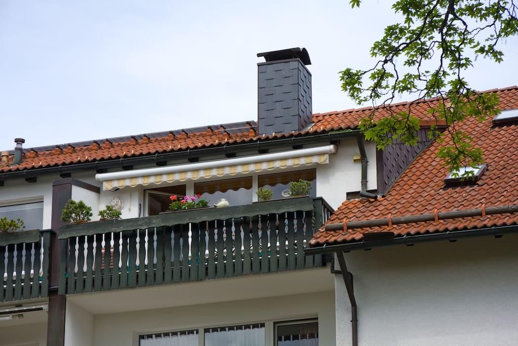 Außenansicht Wohnung