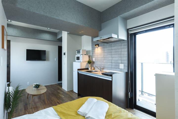 Japan Tokyo Airbnb Studio Flat Holiday Trip Haneda Clean New