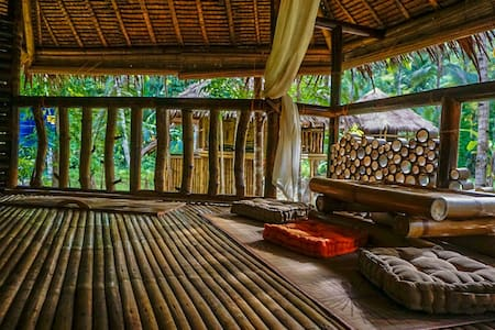 Bamboo cottage by the river - Loboc, Central Visayas, PH - Chatka
