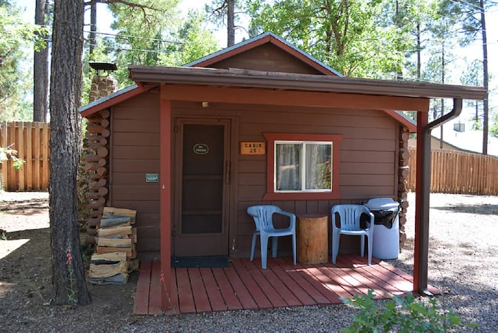 Whispering Pines Resort cabin 25
