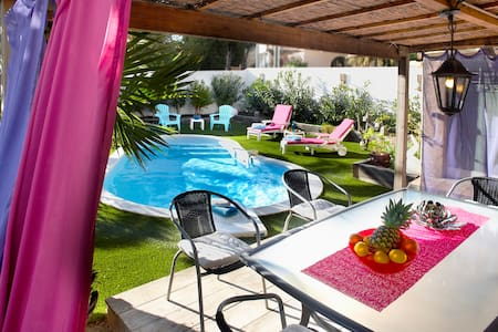 VILLA LA FLORIERE Heated swimming pool, beach 50 m - Roquebrune-sur-Argens