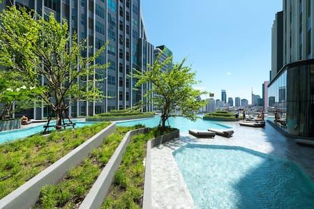 PANORAMIC & RIVER VIEW/ MRT SAMYAN/ CHINA TOWN 07 - Bangkok - Wohnung