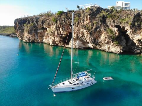 ✯Entire sailing boat SXM✯
