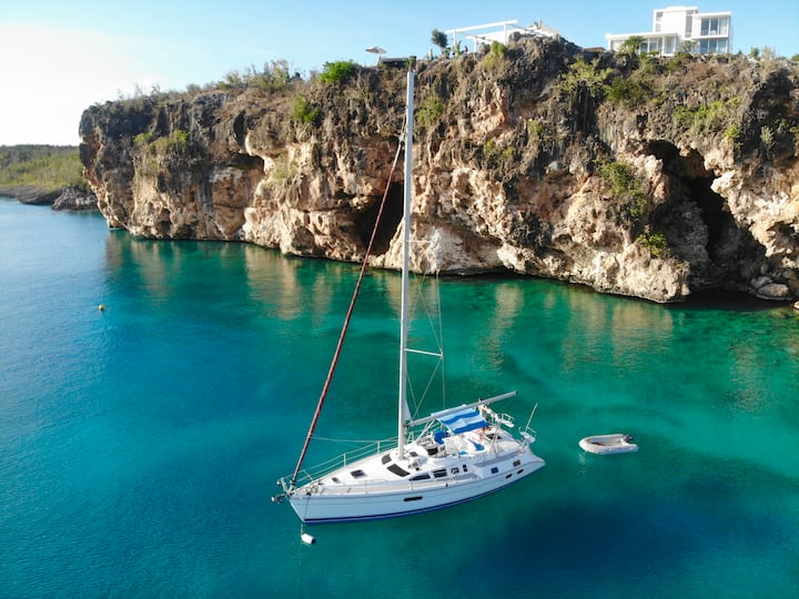 ✯Entire sailing boat SXM✯
