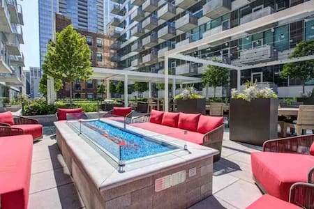Stunning downtown High Rise apartment amazing view
