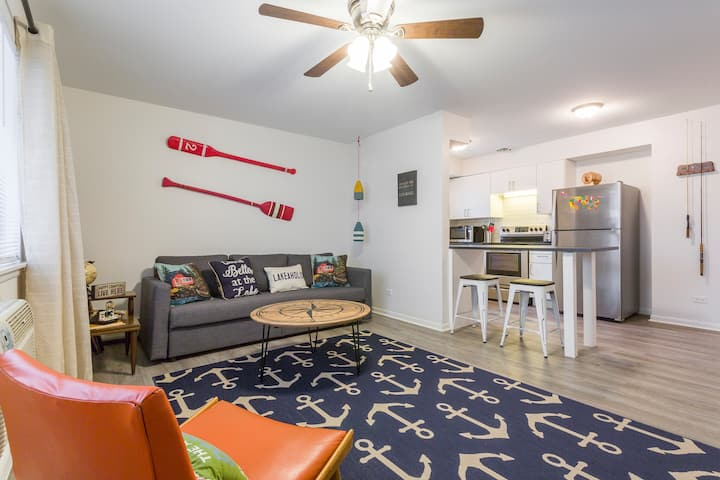 Happy Camper - Extended Stay, DW, 1BR, FUN Decor!