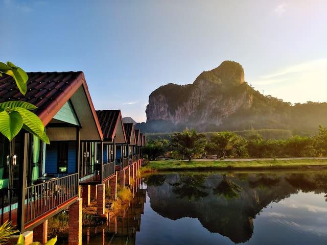 Baan Nai lake house with mountain view #2