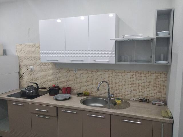 Double bedroom furnished flat in Sertolovo