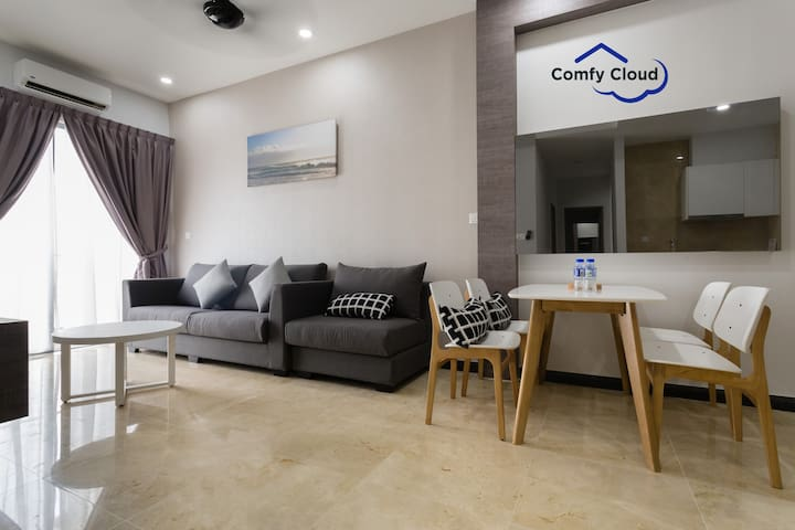 Silverscape Comfy Home With 2BRS CITYVIEW(A30-09)