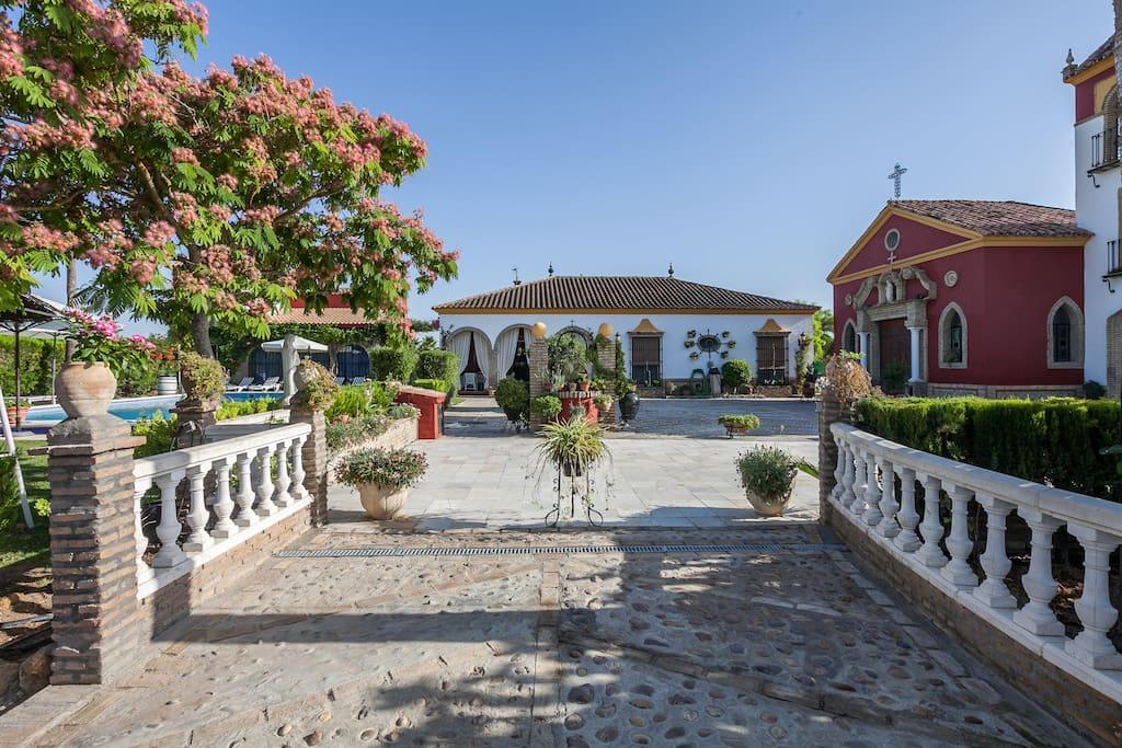 Casa de campo con piscina sevilla cottages for rent in - Casas en los palacios y villafranca ...