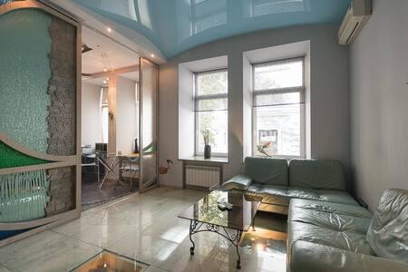 Дизайнерская 2-комнатная квартира в морском стиле - Kiev