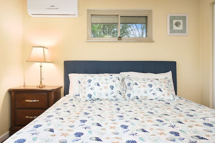 Every room has it's own dedicated ductless HVAC unit for optimal comfort.