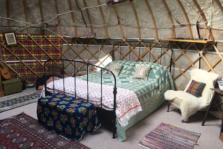 Rural Yurt Retreat near Glastonbury, Somerset