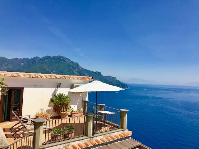 Very peaceful place, amazing view! - Ravello - Hus