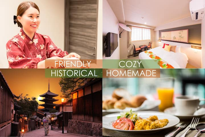 Kyoto INN Gion the Second/16㎡/1 queen bed room/