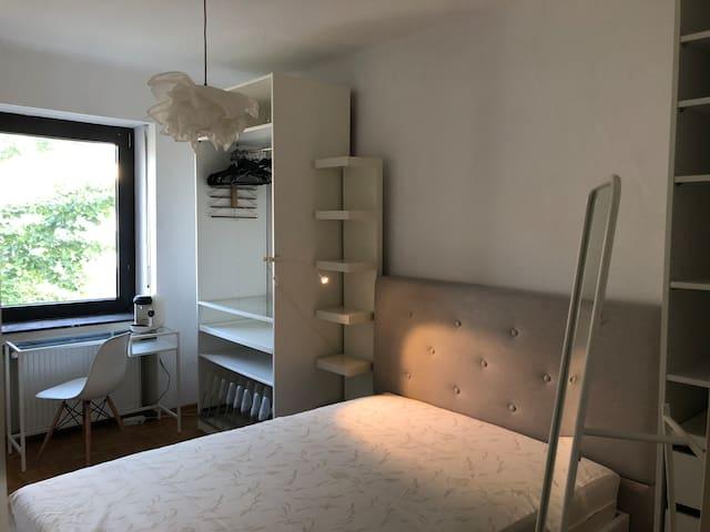 cosy bedroom in Luxembourg-Belair