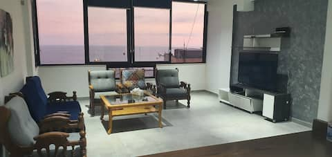 Modern loft with seaview in amchit