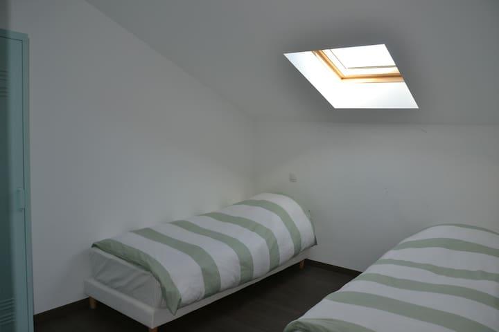 Chambre 4 (à l'étage)