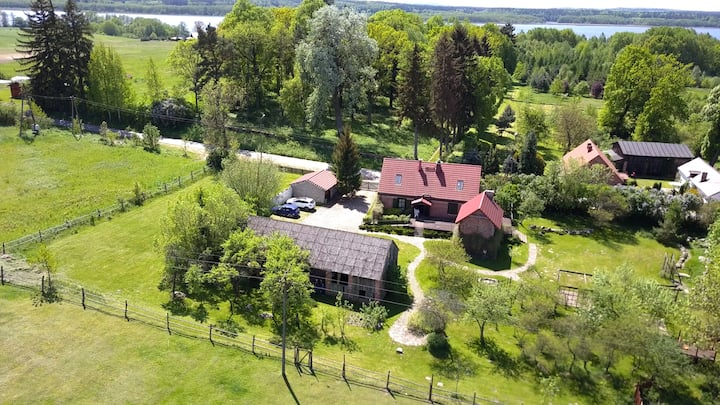 Das Haus LaRosa - Landgut in Lubieszewo