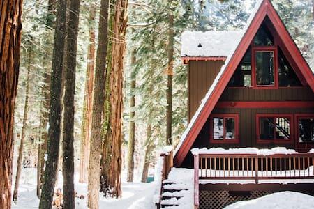 Modern Tahoe A-Frame - Tahoe City