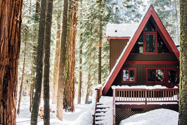 Modern Tahoe A-Frame