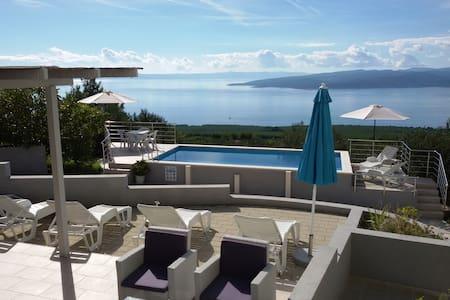 Blue Horizon Villa Baška Voda - Baška Voda - 別荘