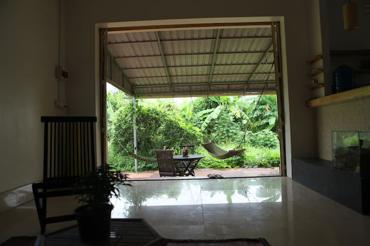 Room in cambodian countryside (shared flat)